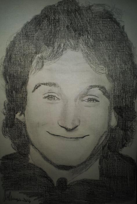 Robin Williams by Lindasart